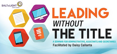 Leading Without The Title by Daisy Calla
