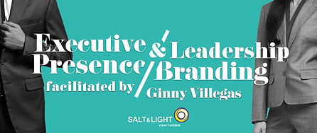 Executive Presence Leadership Branding b