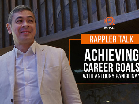 Achieving Career Goals with Anthony Pangilinan