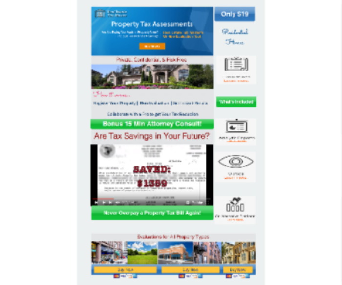 PROPERTY TAX ASSESSMENT EVALUATION TOOL
