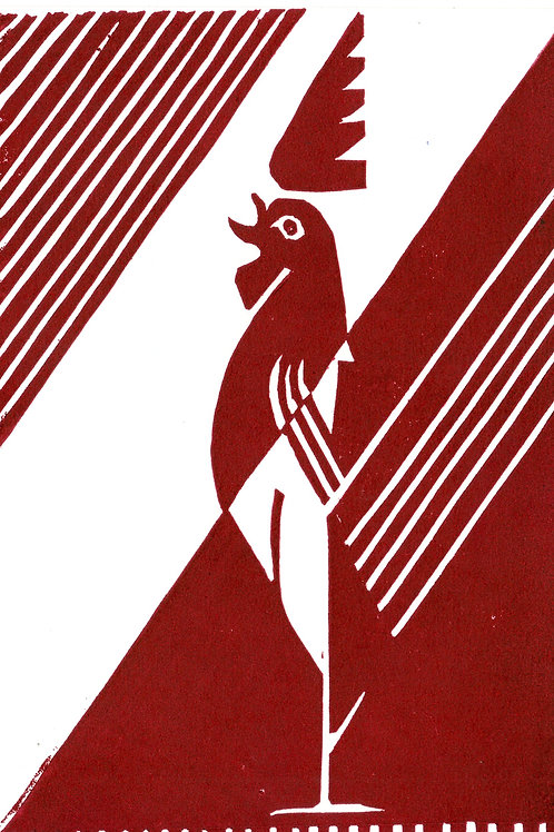 Deco Rooster