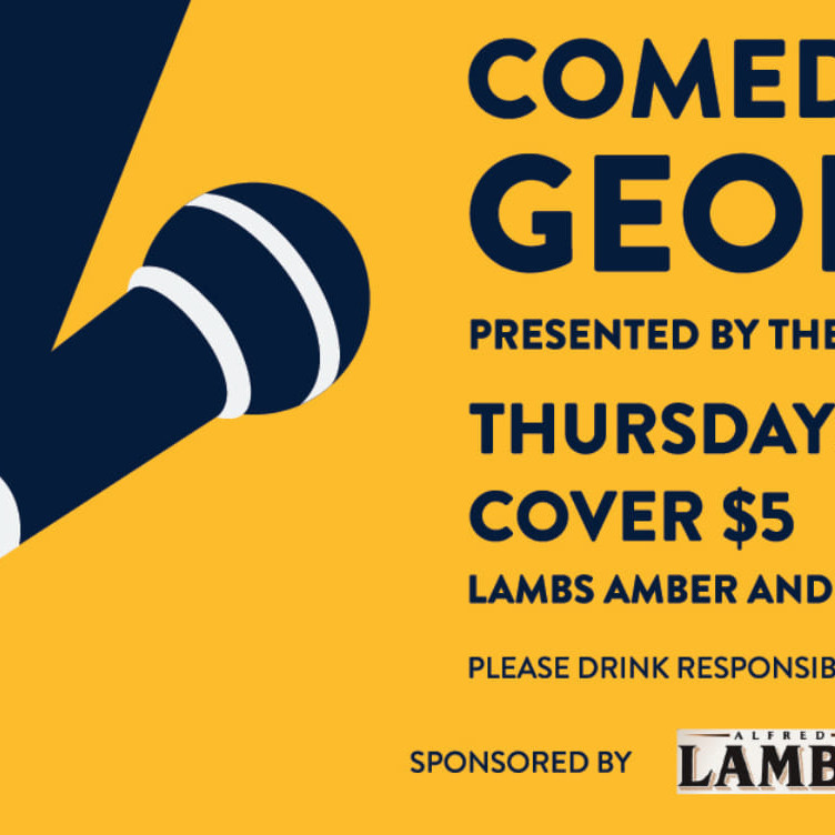 Comedy on George presented by The Black Sheep