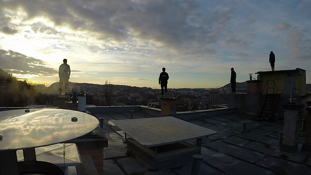 We can see the city from a different angle that no one can se if you are not a parkour traceur