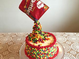 Skittleskaka