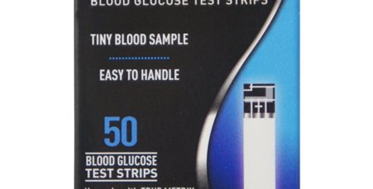 True Matrix Glucose Test Strips