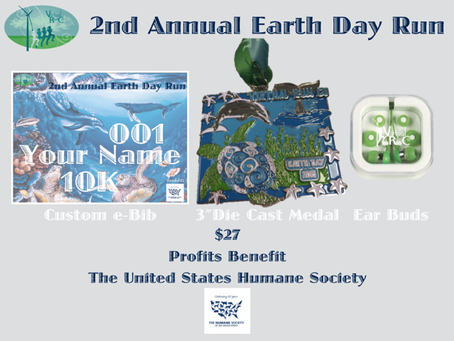 2nd Annual Earth Day Run (Event Closed)
