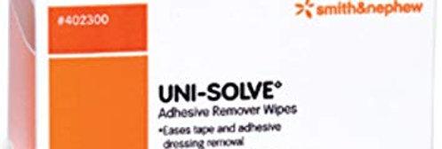 Uni-Solve Adhesive Remover Wipes- 50/Box