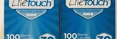 Lite Touch 30G Lancets