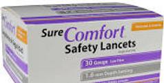 Sure Comfort 30G Lancets
