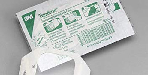 """Tegaderm Hp 2 3/8"""" X 2.75"""" -100/Box"""