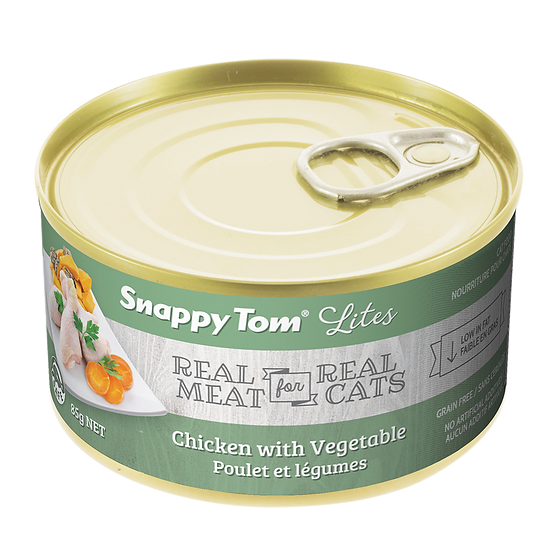 (Retail) Snappy Tom Lites Chicken With Vegetable