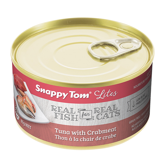 Snappy Tom Lites Tuna With Crabmeat