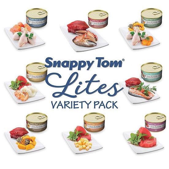 Snappy Tom Lites Variety Pack