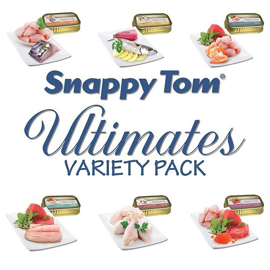 Snappy Tom Ultimates Variety Pack