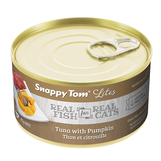 Snappy Tom Lites Tuna with Pumpkin