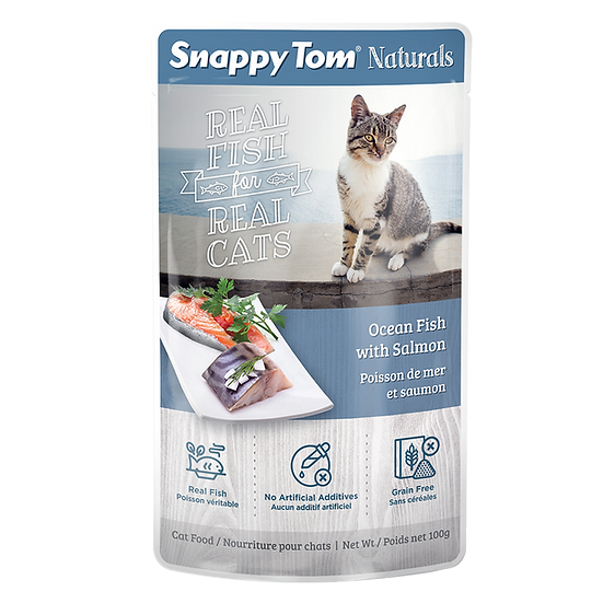 Snappy Tom Naturals Ocean Fish with Salmon