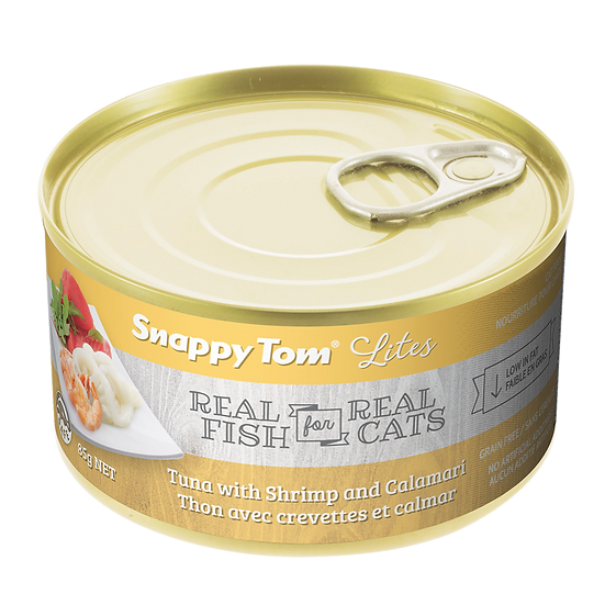 (Retail) Snappy Tom Lites Tuna With Shrimp and Calamari