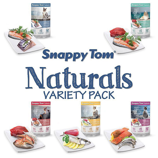 Snappy Tom Naturals Variety Pack