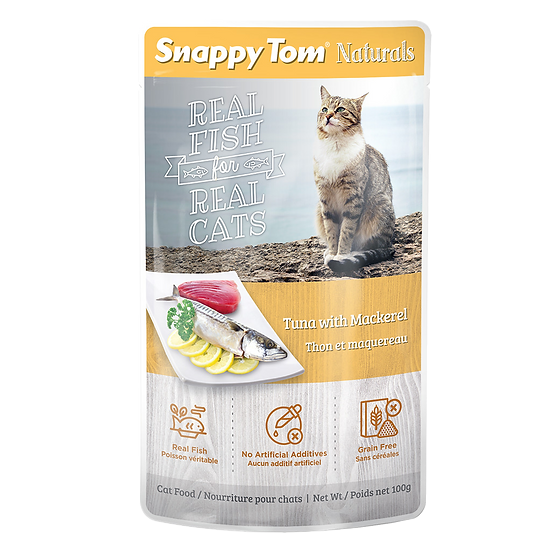 Snappy Tom Naturals Tuna with Mackerel