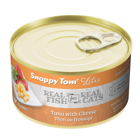 (Retail) Snappy Tom Lites Tuna With Cheese