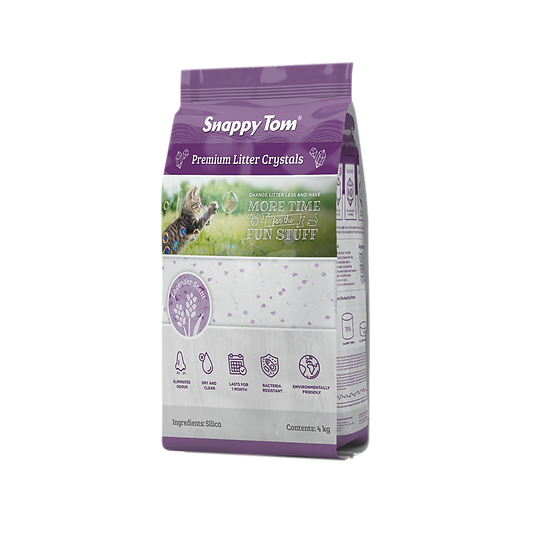 Snappy Tom Crystal Cat Litter (Lavender)