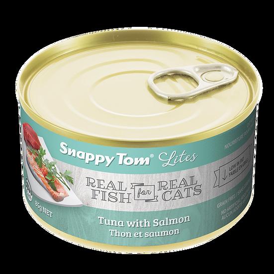 Item#: 09400 Snappy Tom Lites Tuna With Salmon