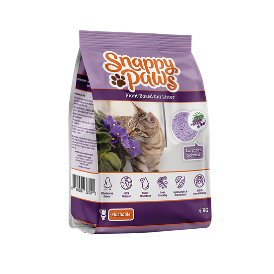 Snappy Paws Plant Based Cat Litter  (Lavender)