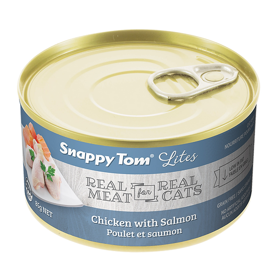 (Retail) Snappy Tom Lites Chicken with Salmon