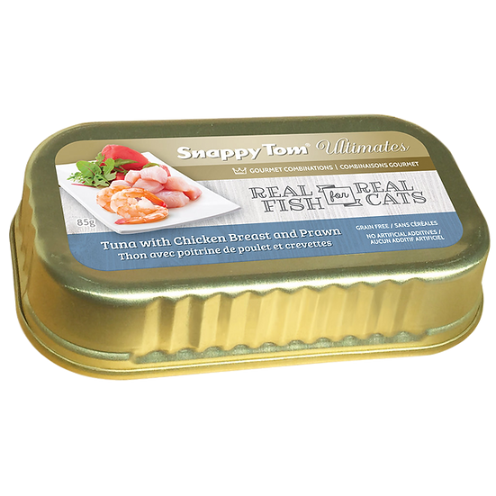 (Retail) Snappy Tom Ultimate Tuna with Chicken Breast and Prawn