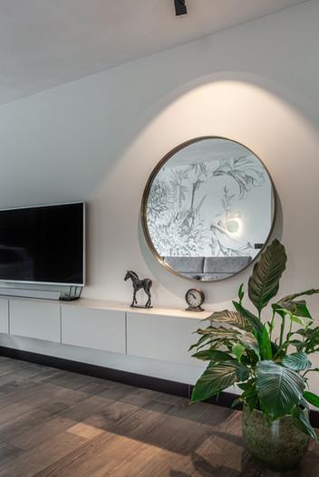 detailfoto maatwerk tv-meubel
