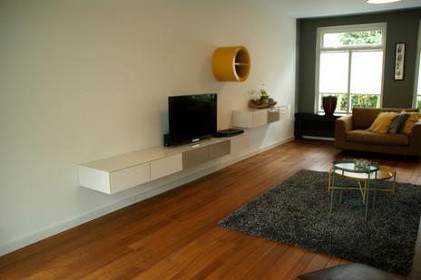 samenstelling kleurenpalet hangend meubel