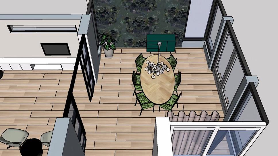 Voor de verbouwing zien hoe je leefruimte er uit komt te zien? Met dit filmpje krijg je een heel goed beeld van de ruimtelijke beleving