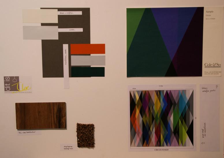 kleuren materialen