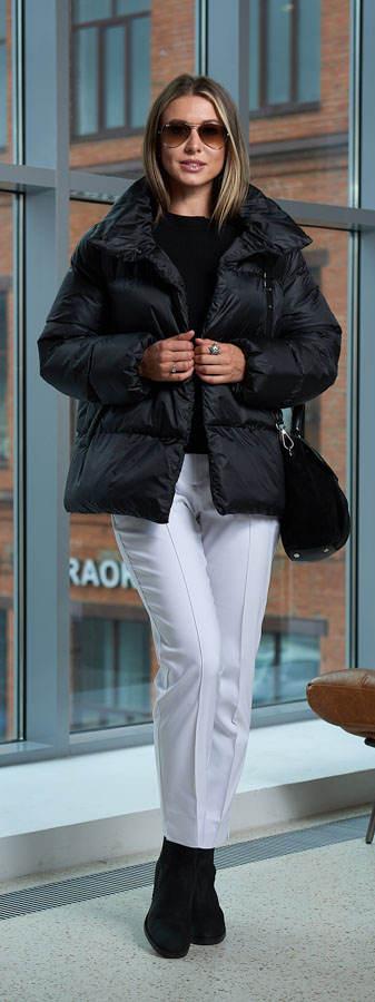 Зимняя женская куртка A&I чёрного цвета