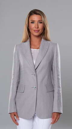 Женский пиджак 2109. Светло-Серый