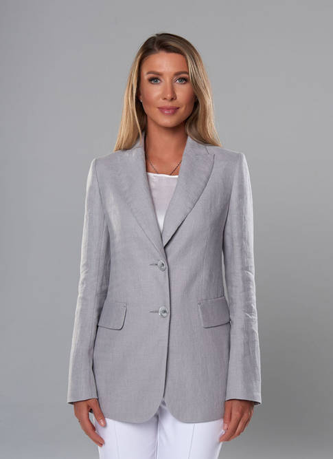 Женский пиджакA&Iсветло-серый