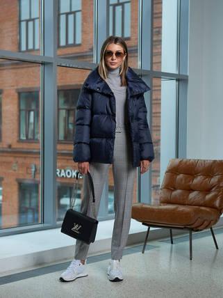 Женская синяя куртка A&I