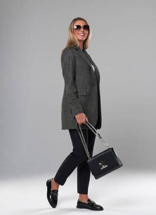 Женский пиджак. Модель A&I 2104. Цвет дымчатый