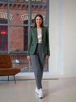 Женский оливковый пиджак 2001