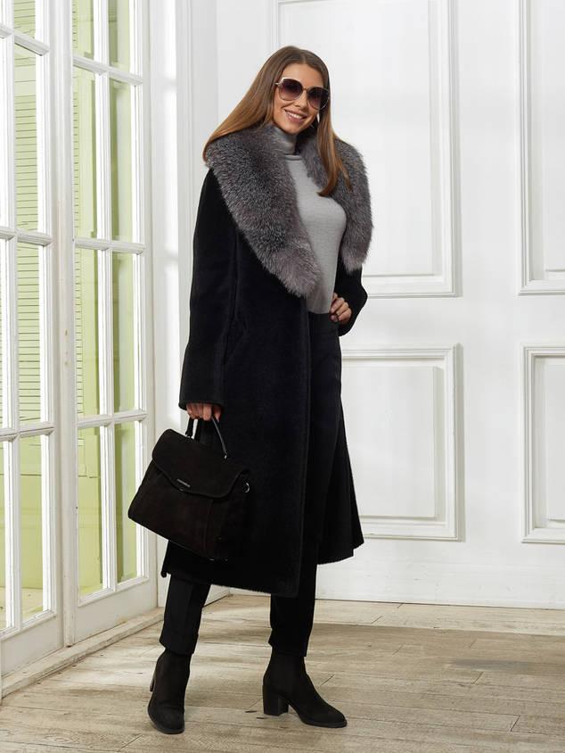 Женское Пальто A&I, Черное