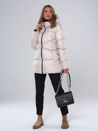 Пальто A&I. 2125_Жемчужный