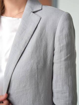 2002_Светло-серый женский жакет
