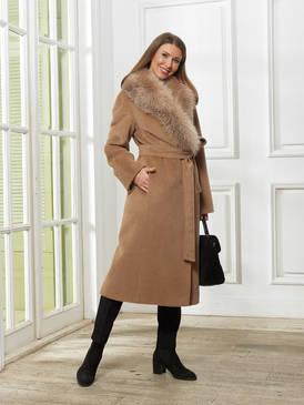 Женское Пальто A&I, Кэмел