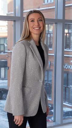Женский пиджакA&I, 2105светло-серый
