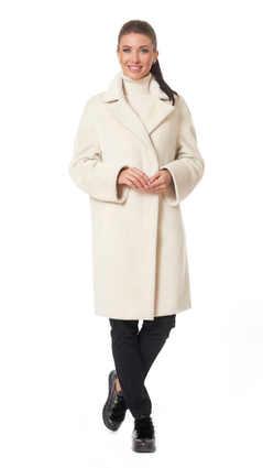 Пальто A&I, Белый