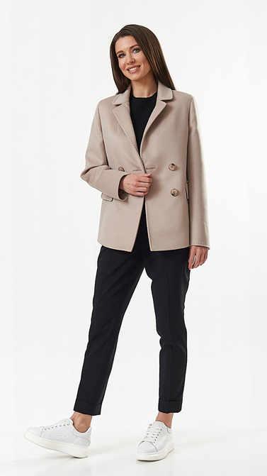 Пальто A&I. 101_Бежевый