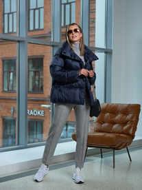 Женская куртка A&I синего цвета