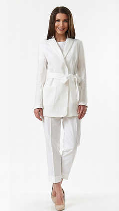 Пиджак A&I, Белый
