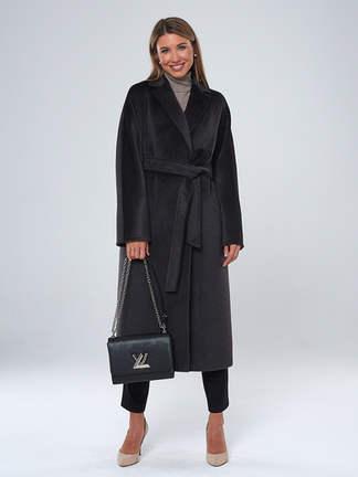 Пальто A&I. 032АС_Темно-Серый