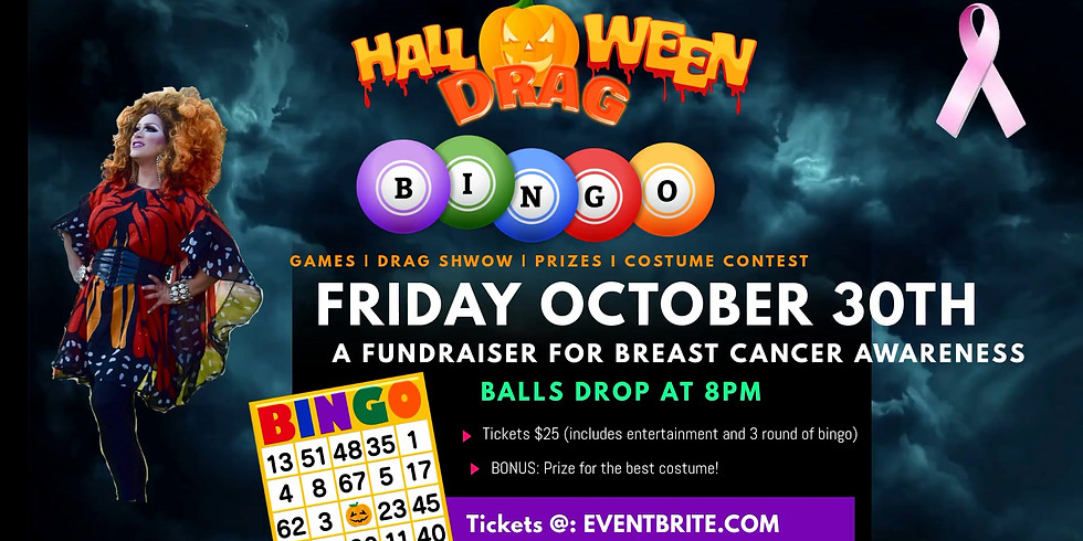 Virtual Halloween Drag Bingo